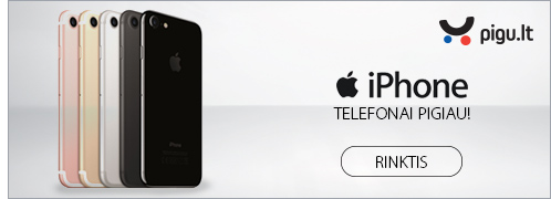 APPLE MOBILUS TELEFONAI PIGU